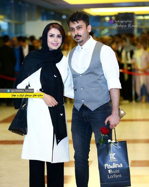 عکس نجمه جودکی و همسرش