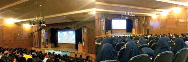 اکران فیلم «دارکوب» در یک دانشگاه با چراغ روشن!