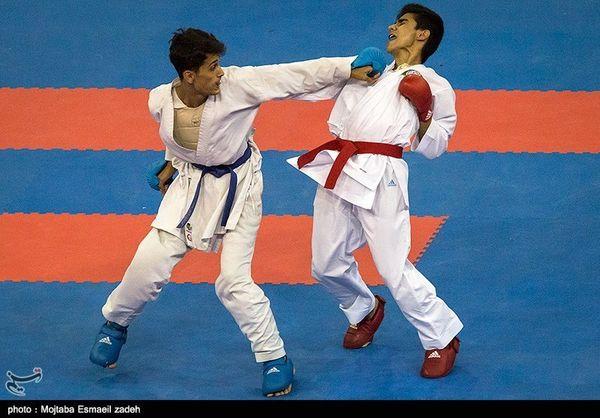 مراسم وزن کشی کاراته برگزار شد