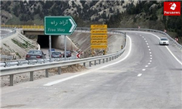 افتتاح رسمی قطعه ۴ آزادراه تهران-شمال فردا با حضور رئیس جمهور