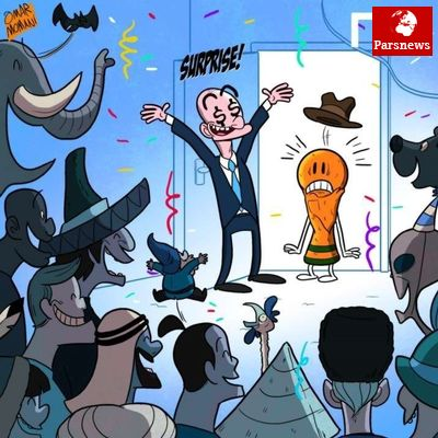 کاروانسرایی به نام جام جهانی/کاریکاتور