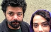 مارال فرجاد و آقای کارگردان معروف در یک قاب+عکس