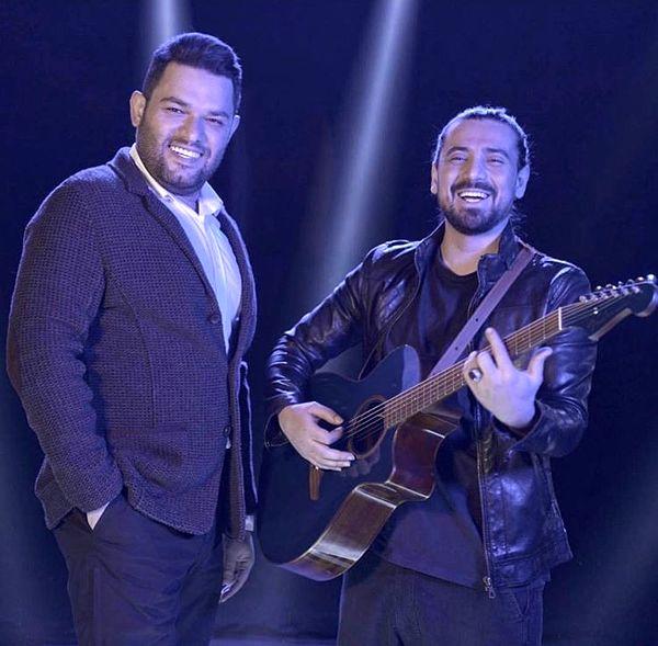 گیتار زدن امیرعباسگلاب + عکس