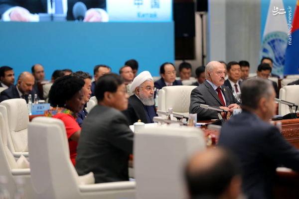روحانی در اجلاس سران عضو سازمان همکاری شانگهای چه گفت