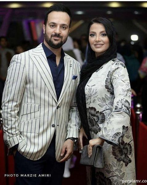 احمد مهرانفر و همسرش در یک مراسم + عکس