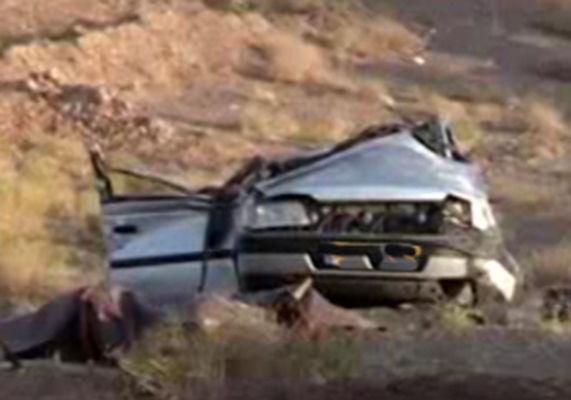 8 مصدوم در واژگونی خودروی پژو