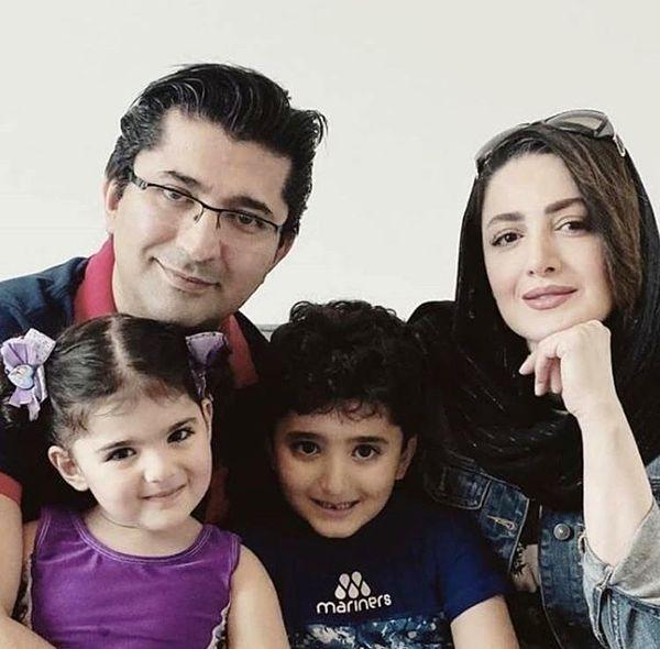 خانواده چهار نفره شاد شیلا خداداد + عکس