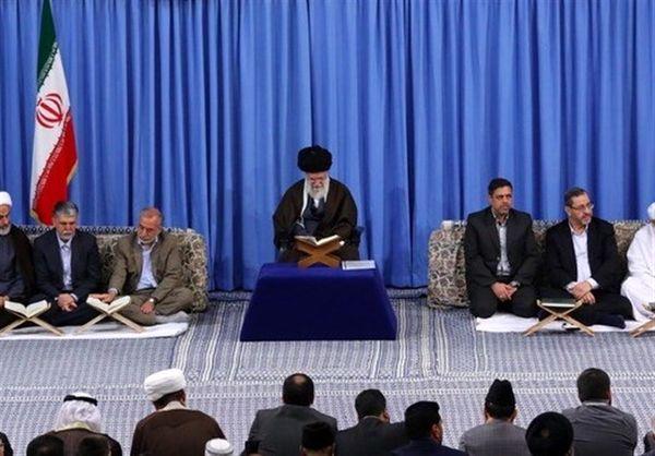 دیدار جامعه قرآنی با رهبر انقلاب