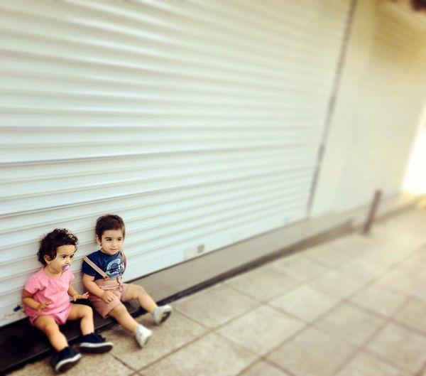 دوقلوهای فلامک جنیدی در خیابان + عکس