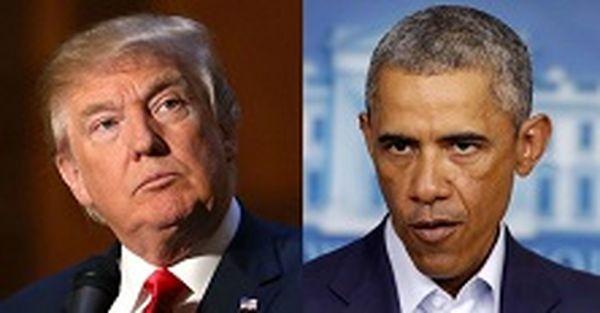 واکنش کارکنان کاخ سفید هنگام دیدار اوباما و ترامپ