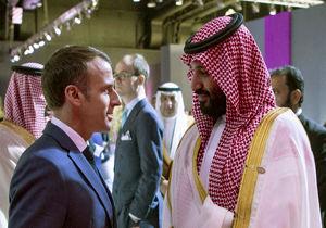 مکرون خطاب به محمد بن سلمان: هیچوقت به حرف من گوش نمیدهی