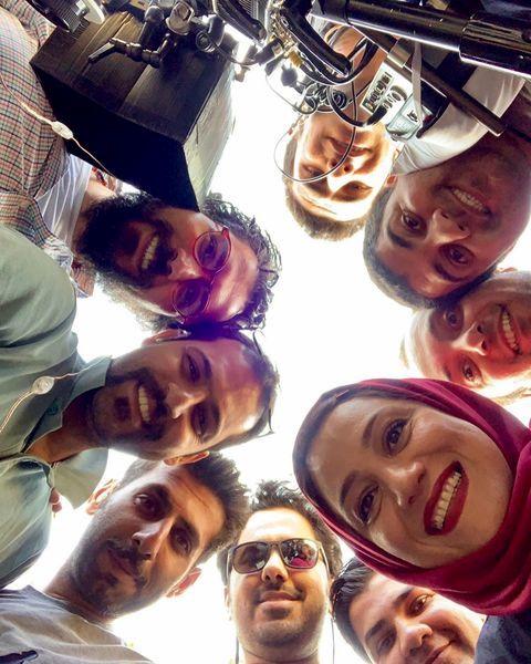 شبنم مقدمی و دوستانش + عکس