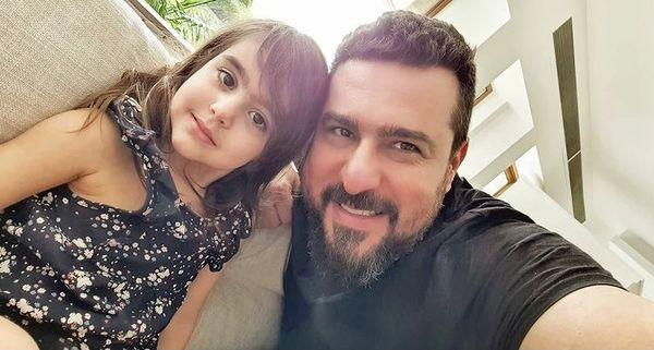 سلفی جدید پدر دختری محسن کیایی + عکس