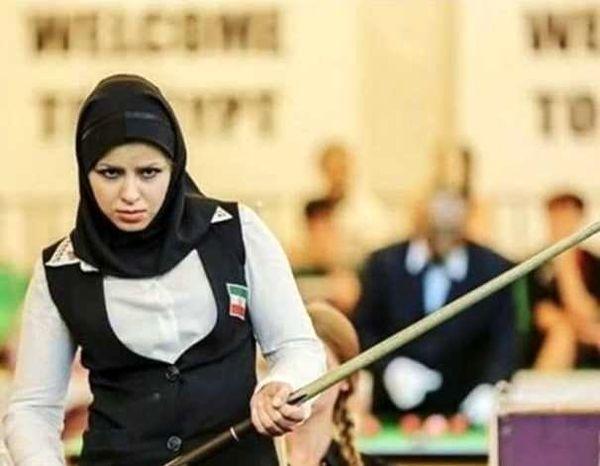 محرومیت دو ساله اولین بانوی مدال آور اسنوکر ایران