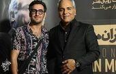مهران مدیری و پسر هیولایی اش+عکس