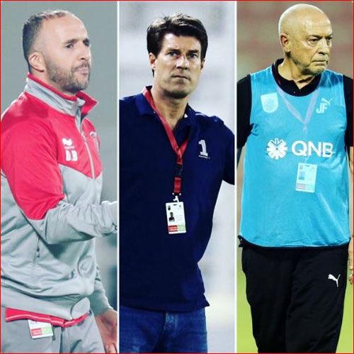 جنگ سه گانه برای عنوان بهترین مربی قطر