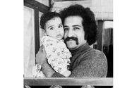 عکسی زیرخاکی از داریوش ارجمند و پسرش؛ 43 سال پیش