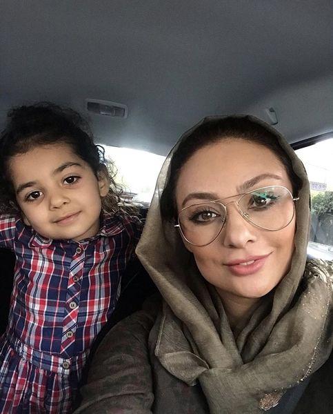 سلفی مادر دختری یکتا ناصر + عکس