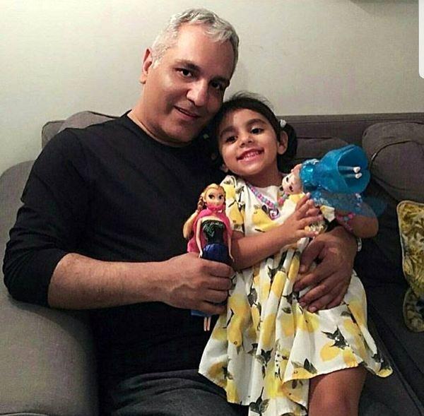 عکس مهران مدیری و برادرزاده عزیزش