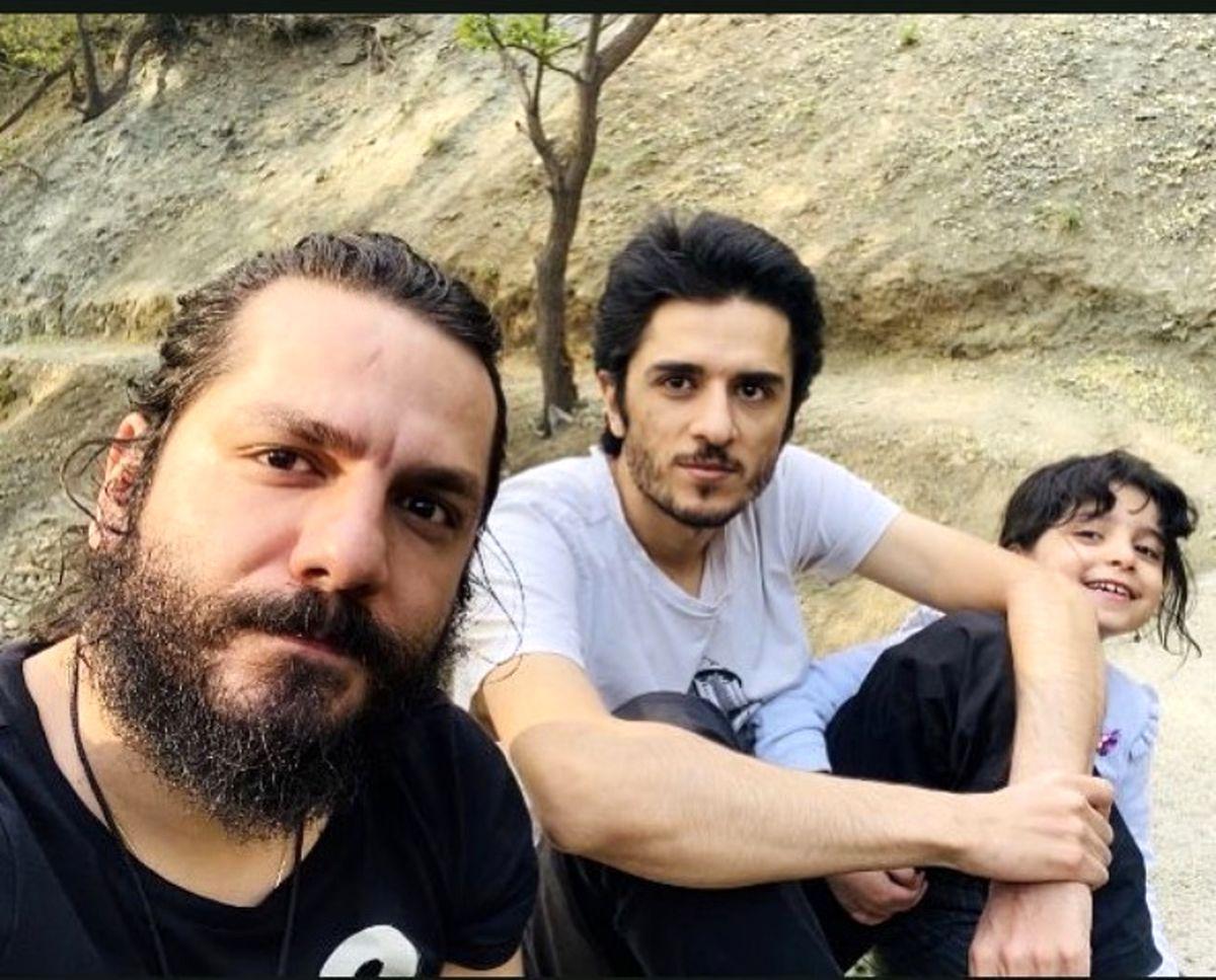 طبیعت گردی برادران غزالی و خواهرزاده شان + عکس