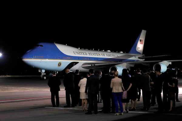 ترامپ برای دیدار با رهبر کره شمالی وارد سنگاپور شد