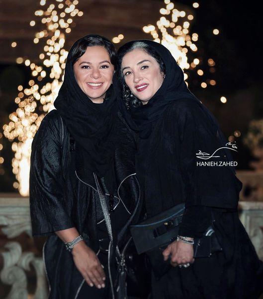 بازیگر بانوی عمارت در کنار همسر پژمان بازغی+عکس