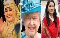 با ملکه های دنیا آشنا شوید از ملکه جوان بوتان تا ملکه مسلمان برونئی