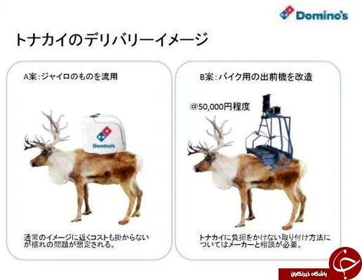 ابتکار جالب یک شرکت زنجیره ای پیتزا در ژاپن+ تصاویر