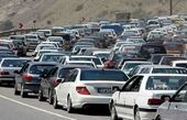 ترافیک در جاده کرج-چالوس