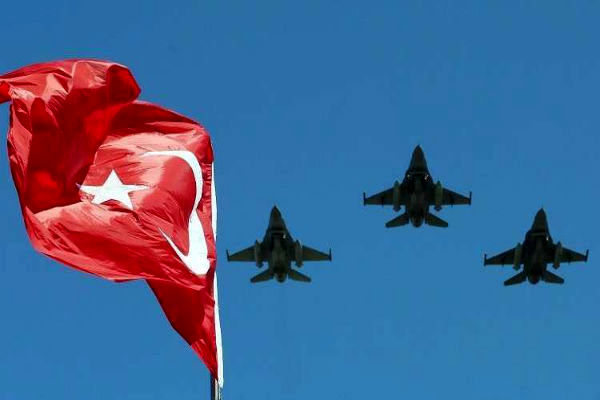 ۱۹ عنصر «پکک» در حملات هوائی ترکیه کشته شدند
