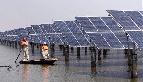 احداث نخستین نیروگاه شناور خورشیدی کشور در زابل آغاز شد