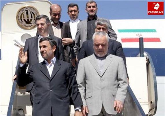 احمدی نژاد عازم نیجر میشود