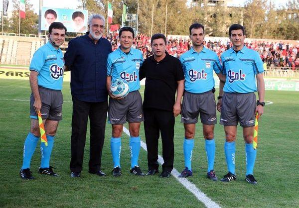 اعلام اسامی داوران هفته دهم لیگ برتر فوتبال