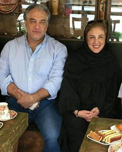 ایرج نوذری و خواهرش+عکس